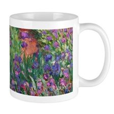 Monet Iris Garden Wraparound Small Mug
