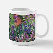 Monet Iris Garden Wraparound Small Mugs