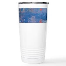 Monet Impressionist Sunrise Wraparound Travel Mug