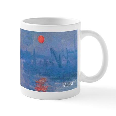 Monet Impressionist Sunrise Wraparound Mug