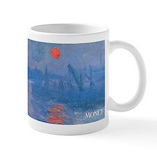 Monet Impressionist Sunrise Wraparound Small Mugs