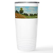 Landscape with Poppies wraparound Travel Mug