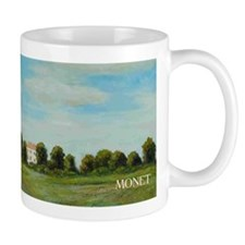 Landscape with Poppies wraparound Mug
