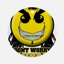 DONTWORRY2.jpg Ornament (Round)