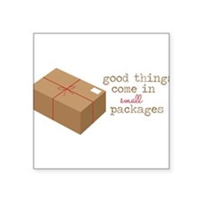Small Packages Sticker