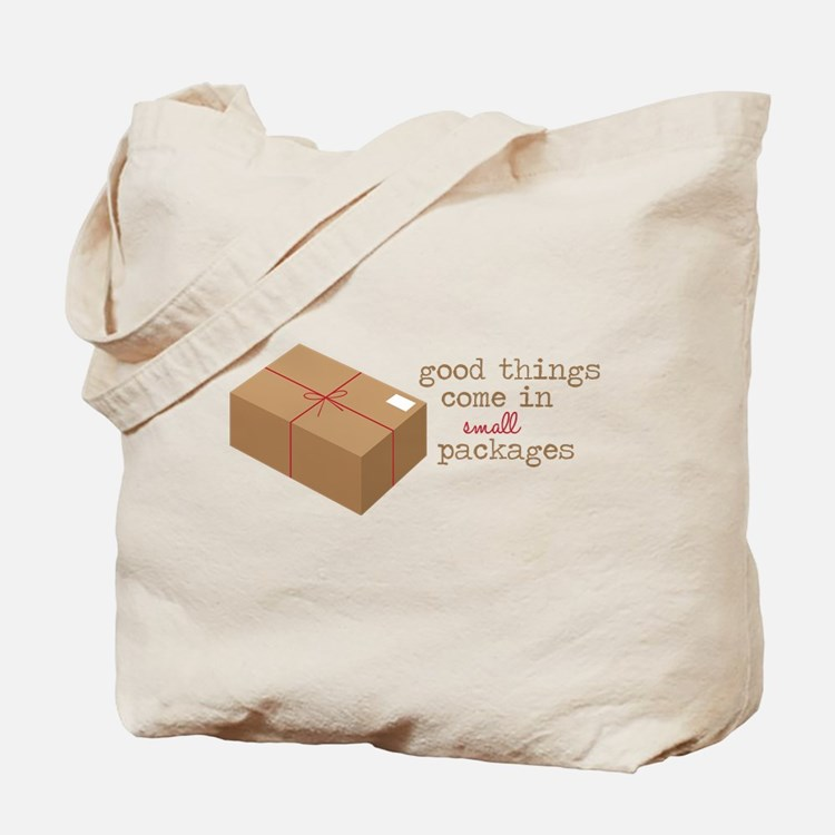 Small Packages Tote Bag