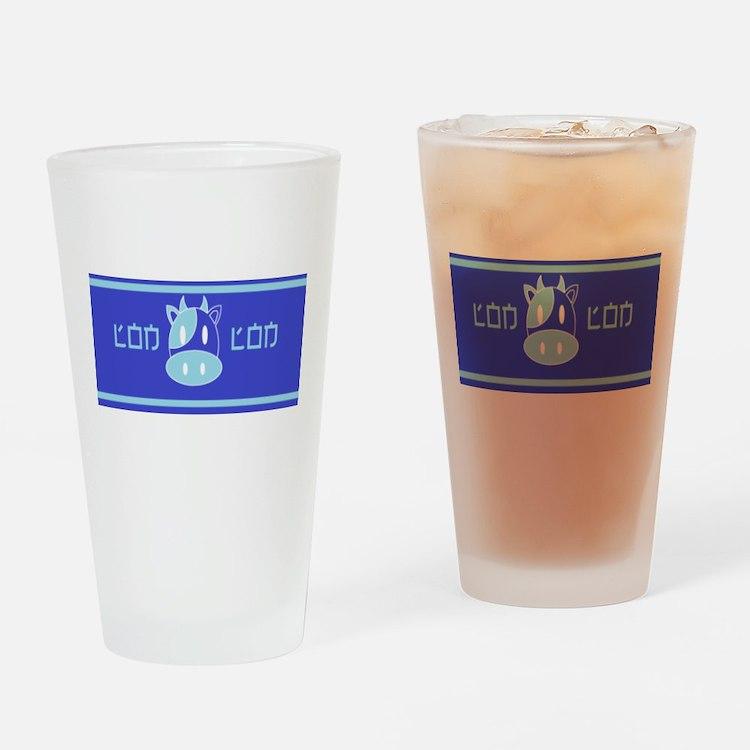 Lon Lon Milk Drinking Glass