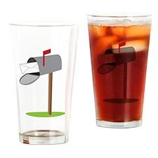 Mailbox Drinking Glass
