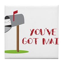 You've Got Mail Tile Coaster