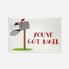 You've Got Mail Rectangle Magnet
