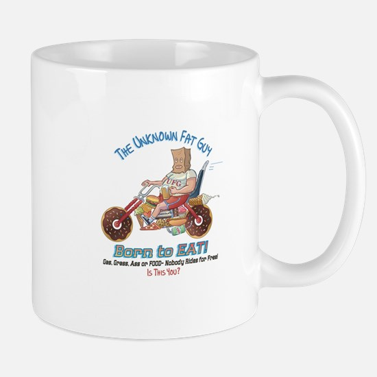 Born to Eat - UFG Biker T-shirt Mug