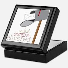 Sealed Signed & Delivered Keepsake Box