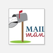 Mail Man Sticker