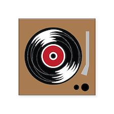 Vinyl Player Sticker