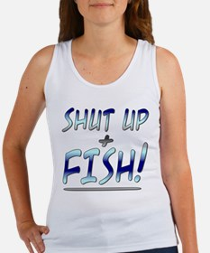 shut up n fish Tank Top
