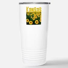 Cool Sunflower Travel Mug