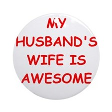 wife Ornament (Round)