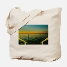 Harbor Sunset Tote Bag