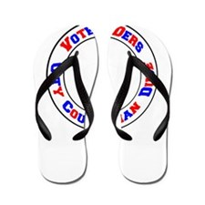Vote Ders City Councilman Dude Flip Flops