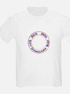 Vote Ders City Councilman Dude T-Shirt
