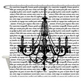 Chandelier Shower Curtains