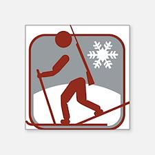 biathlon symbol Sticker