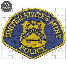 U.S. Mint Police patch Puzzle