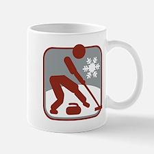 eisstockschiessen symbol Mug