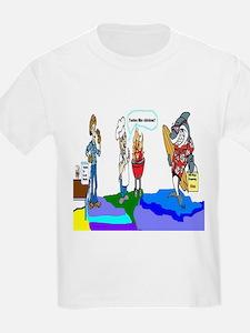 Daddy versus Shark T-Shirt