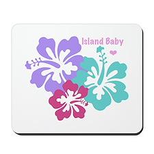 Island baby - pink Mousepad