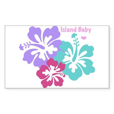 Island baby - pink Sticker