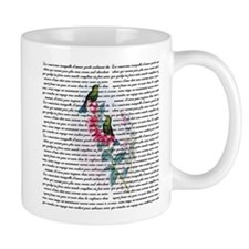 Vintage Hummingbirds Mug