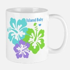 Island baby - blue Mug