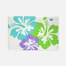 Island baby - blue Rectangle Magnet