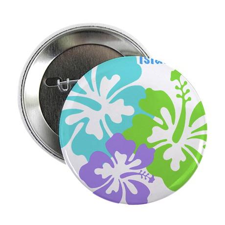 "Island baby - blue 2.25"" Button"