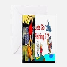 Fishing Time Greeting Card
