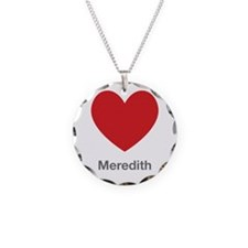 Meredith Big Heart Necklace