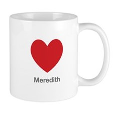 Meredith Big Heart Mug
