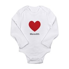 Meredith Big Heart Body Suit