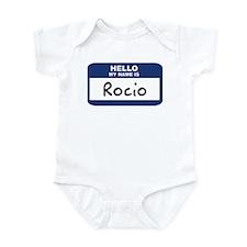 Hello: Rocio Infant Bodysuit