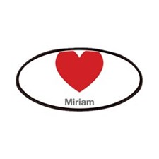 Miriam Big Heart Patches