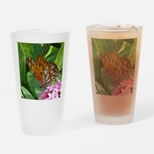 Passion Vine Butterfly Drinking Glass