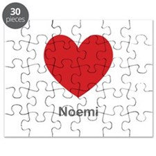 Noemi Big Heart Puzzle