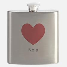 Nola Big Heart Flask