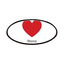 Nona Big Heart Patches