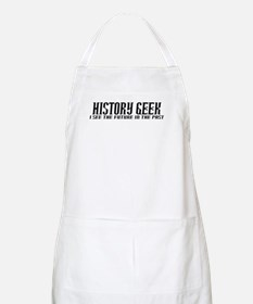 History Geek Future in Past Apron