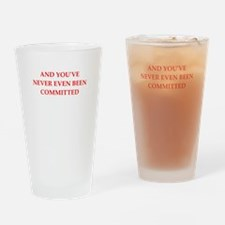 commited Drinking Glass