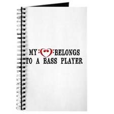 My Heart Belongs to a Bass Player Journal