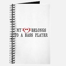 My Heart Belongs to a Bass Player Journal