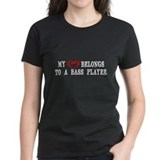 Bass player Women's Dark T-Shirt